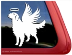 Memorial Golden Retriever Dog Car Truck RV Window Decal Sticker