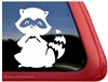 Raccoon Window Decal