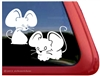 Mice Window Decal