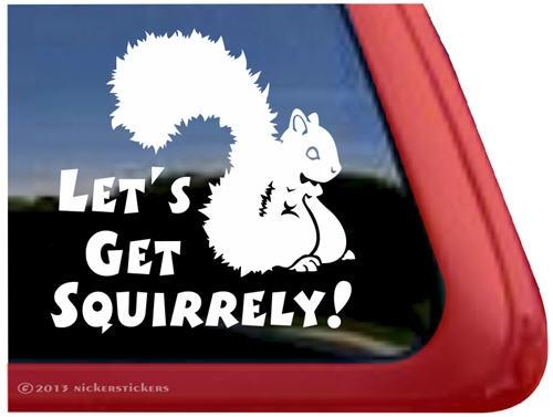 Squirrel family stickers \u2022 car window decal \u2022 fast shipping \u2022 squirrel family decals \u2022 squirrel stickers squirrel clipart owl free shipping