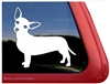 Custom Chiweenie Dog iPad Car Truck RV Window Decal Sticker