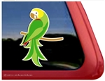 Custom Yellow Headed Amazon Parrot Bird Car Truck RV Window Decal Sticker