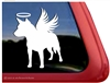 Custom Memorial Angel Wings Australian Cattle Dog iPad Car Truck RV Window Decal Sticker