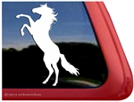 Custom Rearing Horse iPad Car Truck Trailer Window Decal Sticker