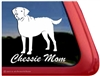 Chessie Mom Chesapeake Bay Retriever Dog iPad Car Truck RV Window Decal Sticker