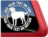 Custom Chesapeake Bay Retriever Dog Vinyl Decal Car Auto Laptop iPad Sticker