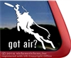 Disc Dog Frisbee Dog Australian Shepherd Aussie Car Truck RV Window Decal Sticker