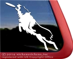 Custom Australian Shepherd Frisbee Aussie Disc Dog Car Truck RV Window Decal