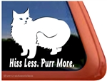 Norwegian Forest Cat Window Decal