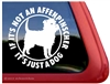 Funny Affenpinscher Dog iPad Car Truck RV Window Decal Sticker