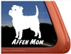Affen Mom Affenpinscher Dog iPad Car Truck RV Window Decal Sticker