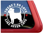 Affen Love Affenpinscher Dog iPad Car Truck RV Window Decal Sticker