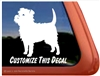 Custom Affenpinscher Dog iPad Car Truck RV Window Decal Sticker