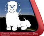 Custom Havanese Window Decal
