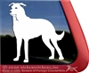 Generic Dog Window Decal