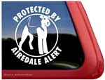 Airedale Terrier Window Decal