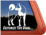 Custom Akita Dog iPad Car Truck RV Window Decal Sticker