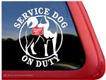 Service Dog Window Decal