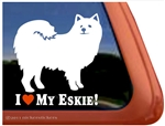 American Eskimo Window Decal