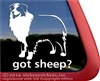 Got Sheep Australian Shepherd Herding Dog Aussie Car Truck RV Window Decal Sticker