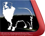 Custom Australian Shepherd Aussie Dog Car Truck RV Window Decal