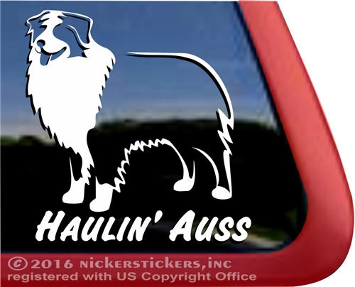 Dog car truck rv window decal sticker larger photo email a friend