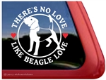 Beagle Window Decal