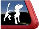 Custom Beagle Dog iPad Car Truck RV Window Decal Sticker
