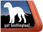 Bedlington Terrier Window Decal