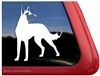 Custom Belgian Malinois Dog Car Truck RV Window Decal Sticker