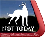 Belgian Malinois Guard Dog Car Truck RV Window Decal Sticker