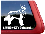 Belgian Tervuren Window Decal