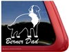 Bernese Mountain Dog Window Decal