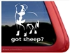 Got Sheep? Border Collie Dog Car Truck RV Vinyl Dog Window Decal Sticker