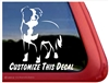 Custom Border Collie Dog Car Truck RV Window Decal Sticker
