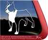Boston Terrier Window Decal