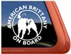 American Brittany Window Decal