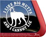 Bullmastiff Dog Car Truck RV Window Tablet Laptop Decal Sticker