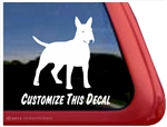 English Bull Terrier Window Decal