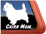 Cairn Terrier Mom Dog iPad Car Truck Window Decal Sticker