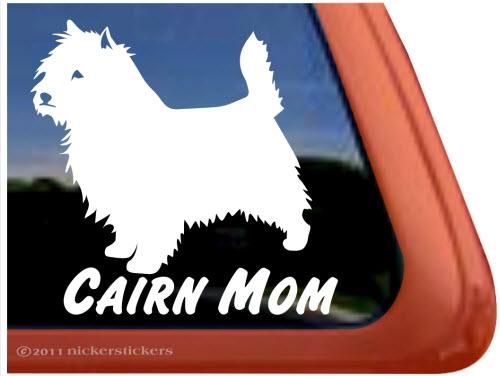 Cairn Terrier Vinyl Decal Sticker