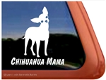 Chihuahua Window Decal