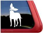 Custom Chihuahua Dog Vinyl Car Truck RV Window Decal Sticker