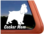 Cocker Spaniel Window Decal