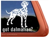 Dalmation Window Decal