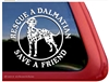 Dalmatian Window Decal