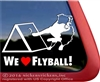 Flyball Dog Sport Australian Shepherd Border Collie Car Truck RV Window Decal Sticker