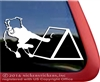 Custom Flyball Dog Aussie Australian Shepherd Border Collie Car Truck RV Window Decal Sticker