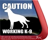 German Shepherd Dog iPad Car Truck RV Window Decal Sticker
