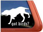 Bird Dog Window Decal